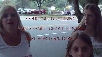 Courtnee's Lockdown Explanation - Gallo Family Ghost Hunters - Featurette