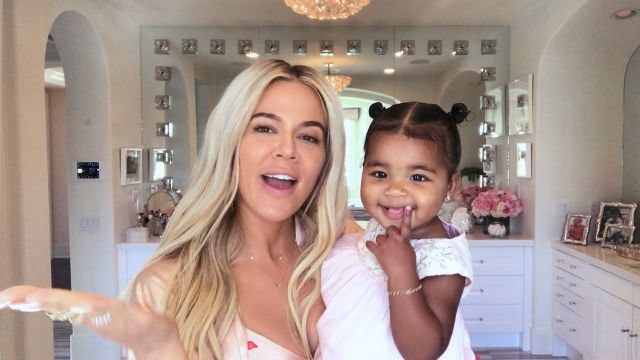 Khloé Kardashian on New Mom Makeup, Contouring, and the Meaning Behind Her Daughter's Name