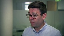 Manchester Mayor Andy Burnham reacts to Abedi arrest