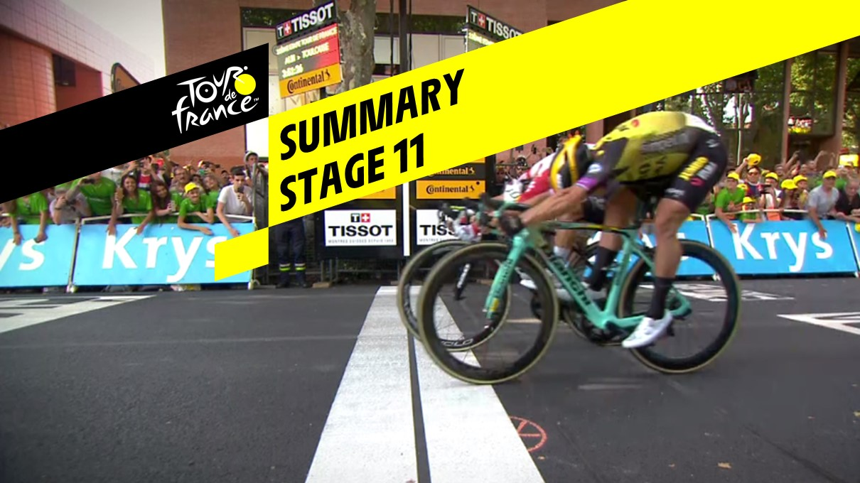 Summary - Stage 11 - Tour de France 2019