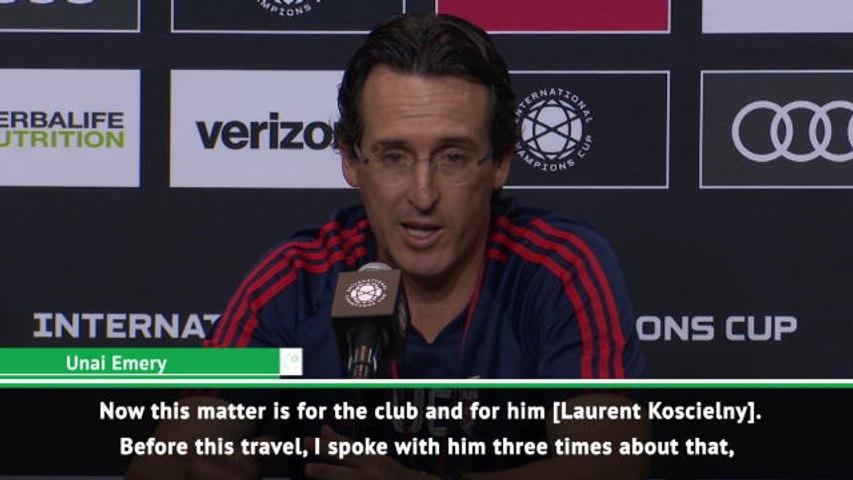 Koscielny wants to leave - Emery