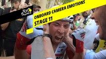 Onboard camera Emotions - Étape 11 / Stage 11 - Tour de France 2019