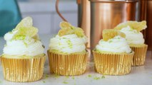 Moscow Mule Cocktail Cupcake