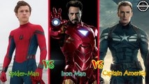 Spider-Man: Homecoming Cast Then and Now (2017) Tom Holland, Robert Downey Jr., Chris Evans ...