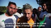 Algérie: des supporters attendent leur billet pour l'Egypte