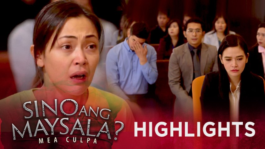 Fina gets emotional after the court reveals the result of the DNA test | Sino Ang Maysala