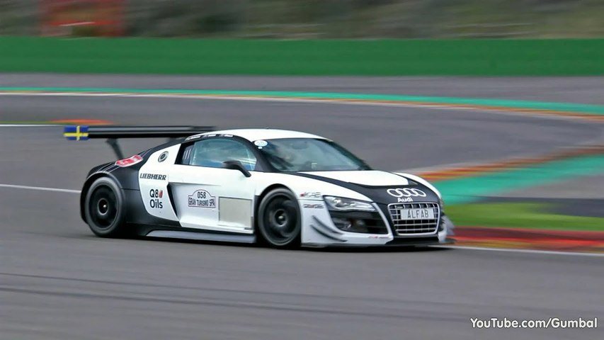 Audi R8 LMS Ultra GT3 - LOUD Sounds--
