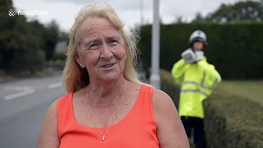 UK farmer creates 'scare-cop' to slow down speeding motorists