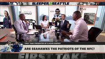 Are the Seahawks the Patriots of the NFC _ First Take