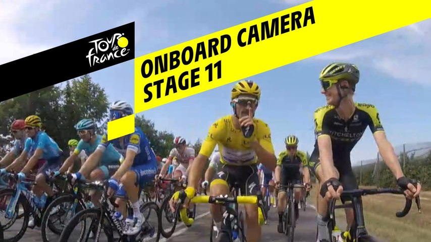 Onboard camera - Étape 11 / Stage 11 - Tour de France 2019