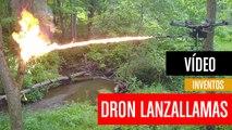[CH] El lanzallamas para drones ya está a la venta