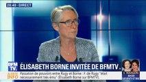 """Élisabeth Borne: """"Le 3/4 de nos investissements ira dans le ferroviaire"""""""