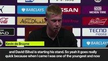 (Subtitled) Kevin de Bruyne makes claim to become Manchester City captain