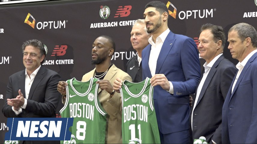 Kemba Walker Introduced As Boston Celtics New Point Guard