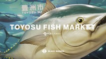 Inside the New Toyosu Fish Market