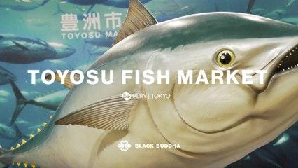 Inside the New Toyosu Fish Market