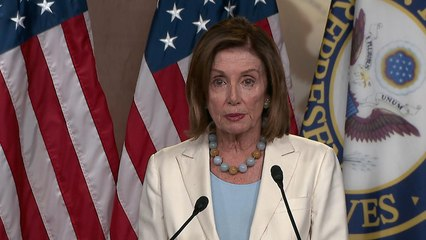 """Speaker Pelosi on impeachment: """"We'll deal with it"""""""
