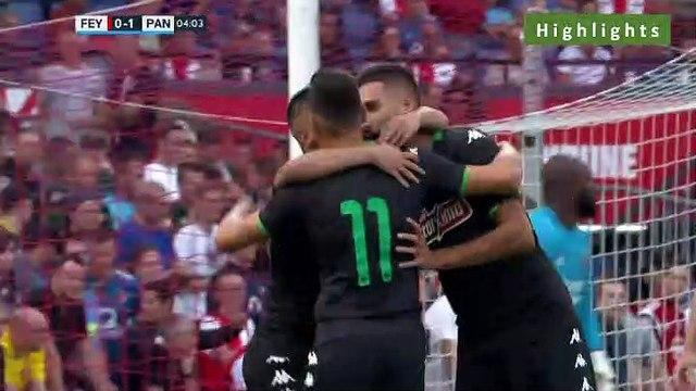 Feyenoord 0-3 Panathinaikos - All Goals 17.07.2019