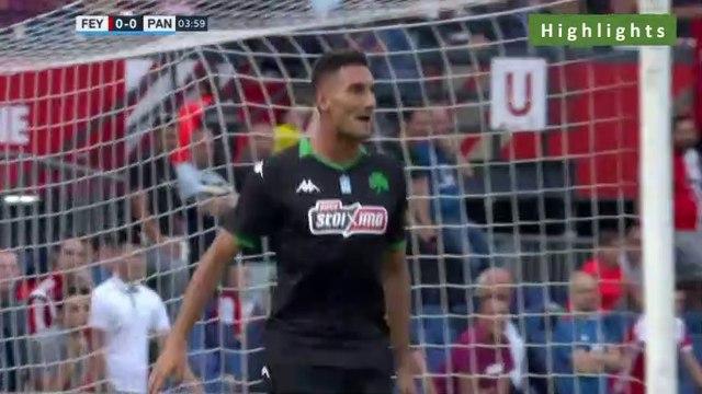0-1 Federico Macheda Goal -  Feyenoord 0-1 Panathinaikos  17.07.2019