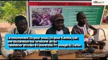Conference de presse  Nouvel an du calendrier africain