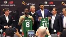Boston Celtics introduce new signings Kemba Walker and Enes Kanter