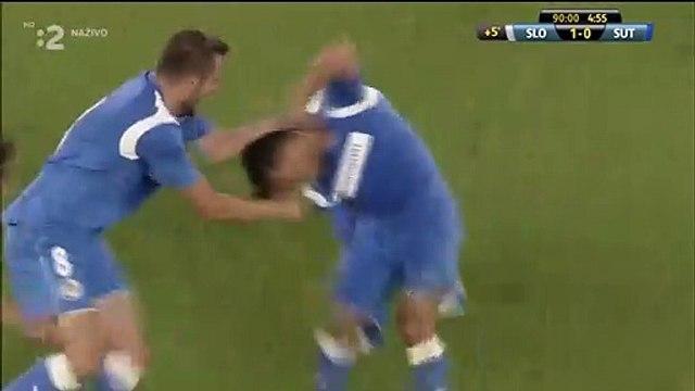 Damir Kojasevic amazing 95th minute goal vs Slovan Bratislava