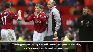 Alex Ferguson's only been to two training sessions - Solskjaer