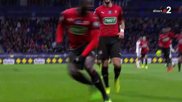 02/04/19 : M'Baye Niang (40') : Lyon - Rennes (2-3)