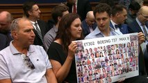 Family members of 737 MAX crash victims testify on Capitol Hill