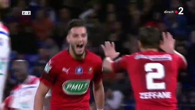 02/04/19 : Ramy Bensebaini (81') : Lyon - Rennes (2-3)
