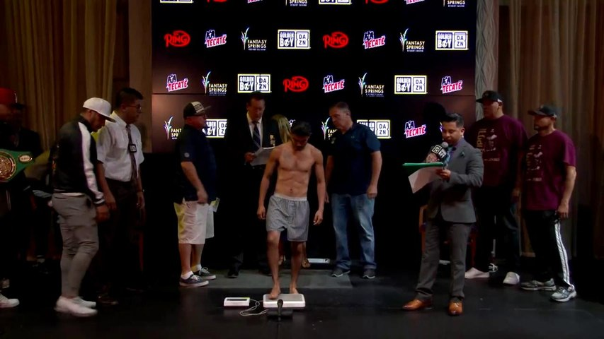 Ricardo Sandoval Weigh In