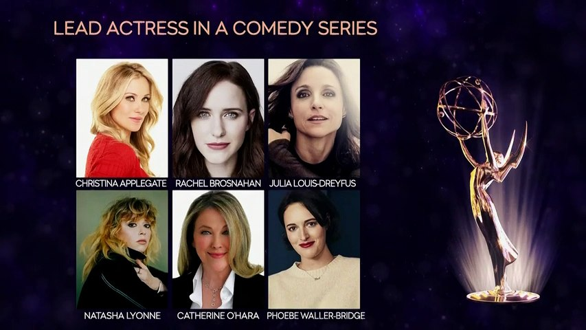 71st Emmy Award Nominations: Announced By D'Arcy Carden - Ken Jeong - LIVE - TIME part 2/2