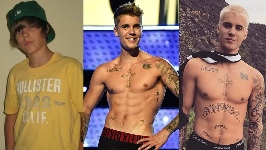 Justin Bieber - Transformation From 0 to 23 Years Old