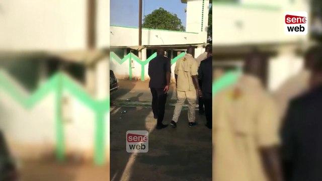 L'exfiltration de Macky et IBK de la limousine présidentielle en feu
