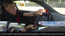 Walter Röhrl im neuen Porsche 718 Cayman GT4