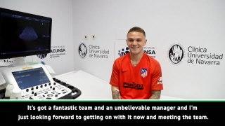 Trippier 'can't wait' to work under new boss Simeone