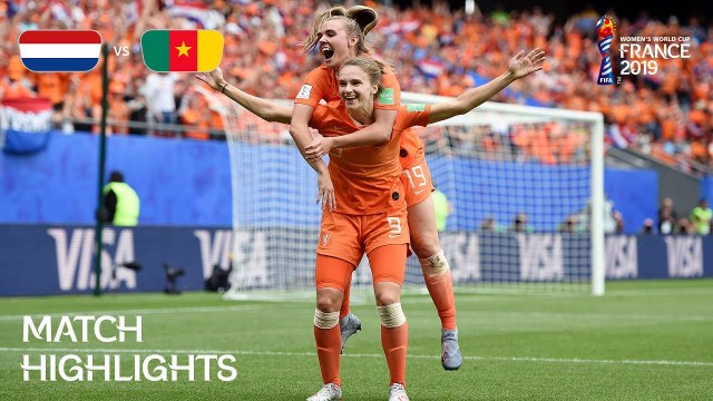 netherlands v cameroon fifa women s world cup france 2019 video dailymotion
