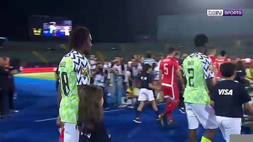 Match Highlights: Tunisia 0-1 Nigeria
