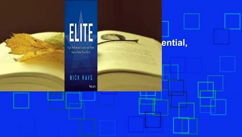 [Read] Elite: How to Raise Your Potential, Your Performance, and Your Game  For Kindle