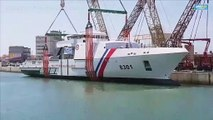 Coast guard's BRP Gabriela Silang launched in France