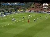 Inter - Juventus, tentative de Trézéguet