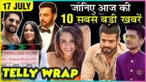 Surbhi Chandna Masti, Nia Sharma & Ravi Dubey Jamai Raja 2, Amruta Khanvilkar In KKK10 | Top 10 News