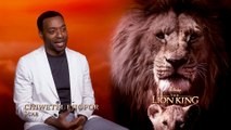 The Lion King - Exclusive Interview With Chiwetel Ejiofor