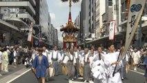 En juillet, Kyoto vit au rythme du festival de Gion