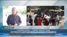 Pemkab Halmahera Selatan Kesulitan Distribusikan Bantuan untuk Korban Gempa