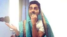 Here's How Ayushmann Khurrana Nails #SareeTwitter Challenge Like A Boss