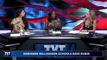 Marianne Williamson Schools Dave Rubin