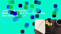 Full E-book  They Say / I Say: The Moves That Matter in Academic Writing  Best Sellers Rank : #4