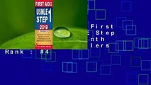 About For Books  First Aid for the USMLE Step 1 2019, Twenty-Ninth Edition  Best Sellers Rank : #4