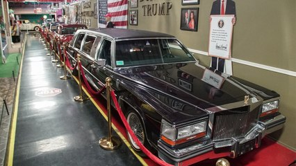 Inside Trump's 'World's Most Luxurious Limo' | RIDICULOUS RIDES